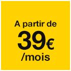 Orange - A partir de 39€`/mois