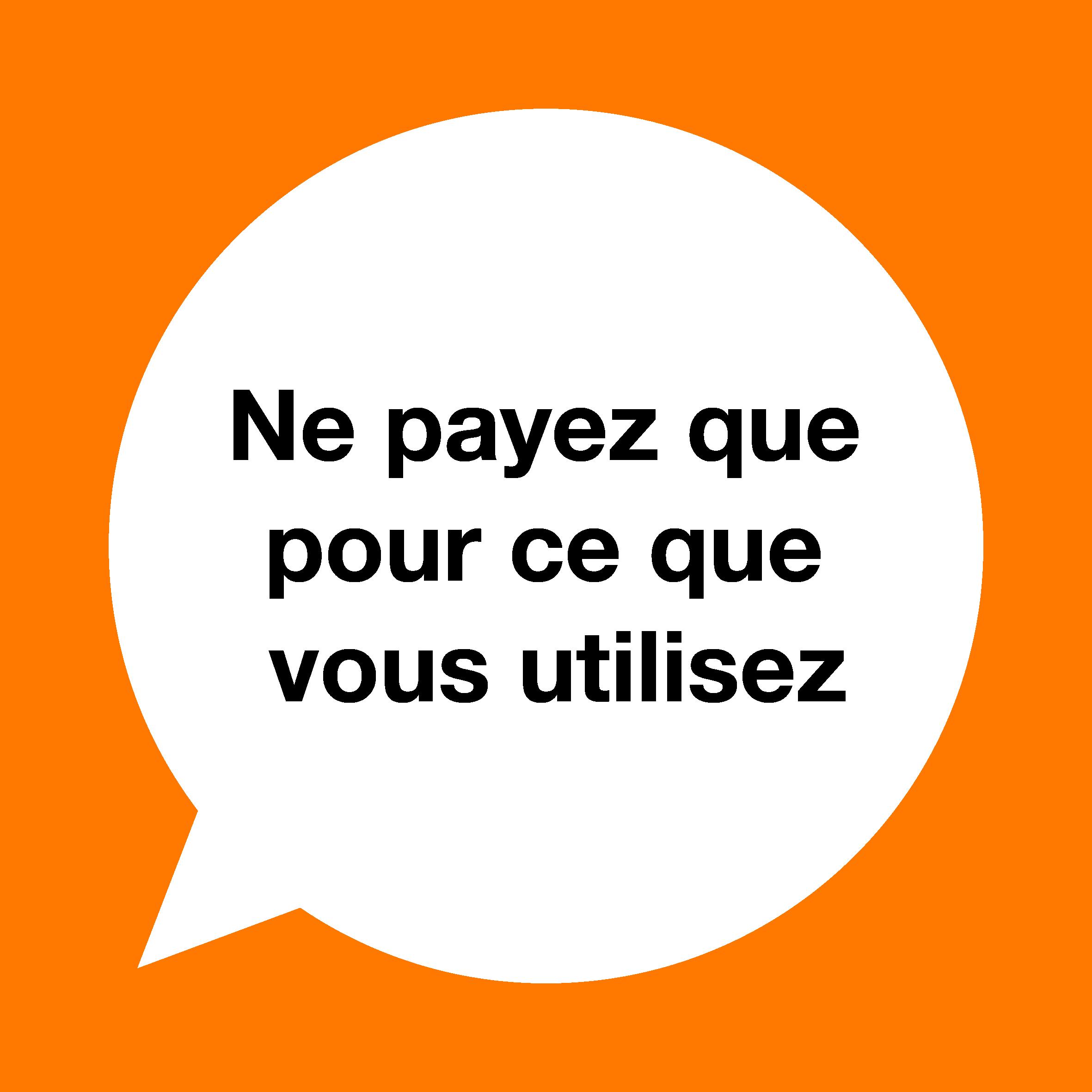 Coupons recharge orange