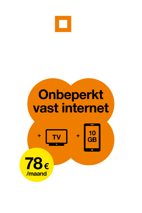 Orange Belgie - Love - Internet