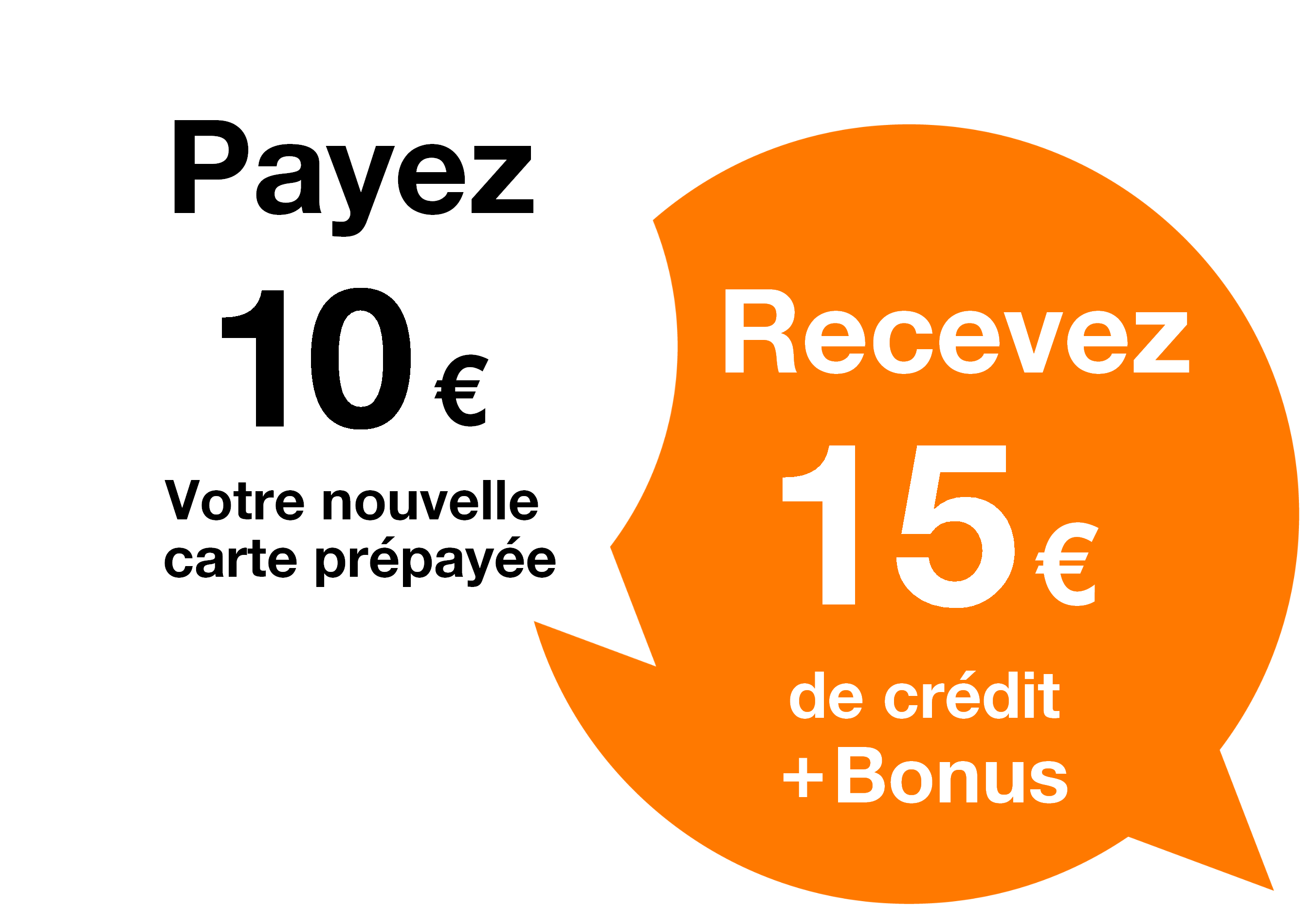 Carte internet orange