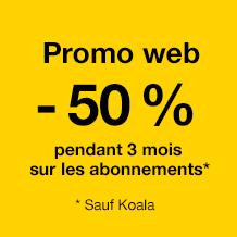 Promo Web - Abonnements